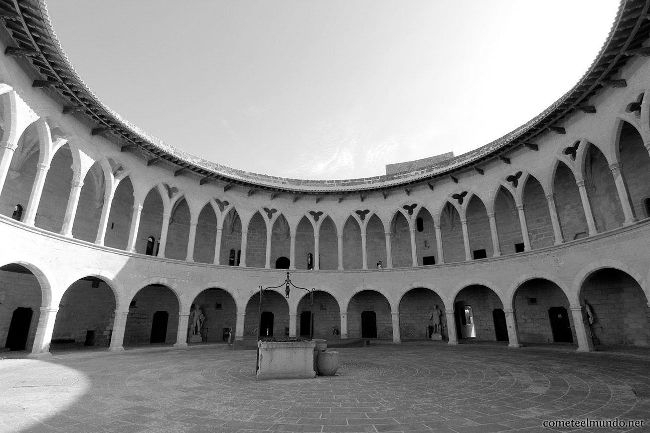 planta_circular_del_castillo_de_bellver
